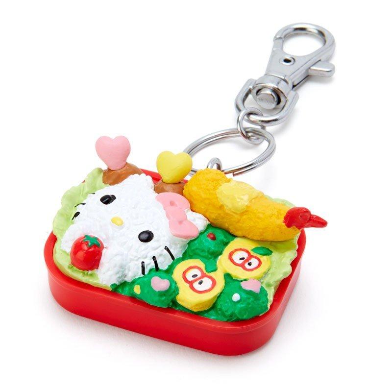 Hello Kitty 鑰匙圈-便當,包包掛飾/鑰匙圈/吊飾,X射線【C634349】