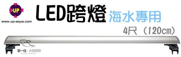 [第一佳水族寵物]台灣雅柏UP[4尺藍白燈海水專用]U系列LED超薄跨燈(120cm)免運