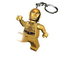 【 LEGO 樂高積木 】星際大戰 - C3P0鑰匙圈 LED鑰匙圈燈