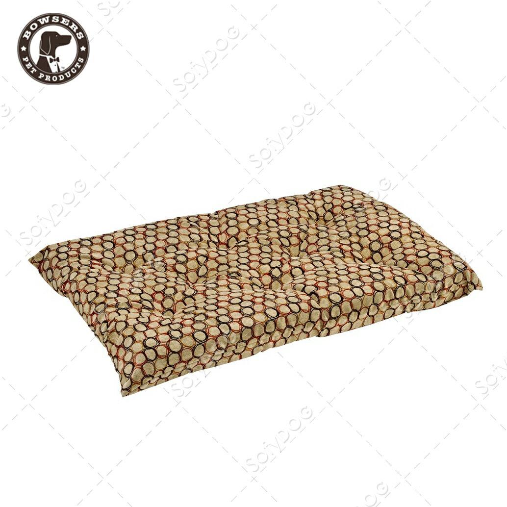 BOWSERS加厚極適寵物睡墊-套圈圈(棕)-XS