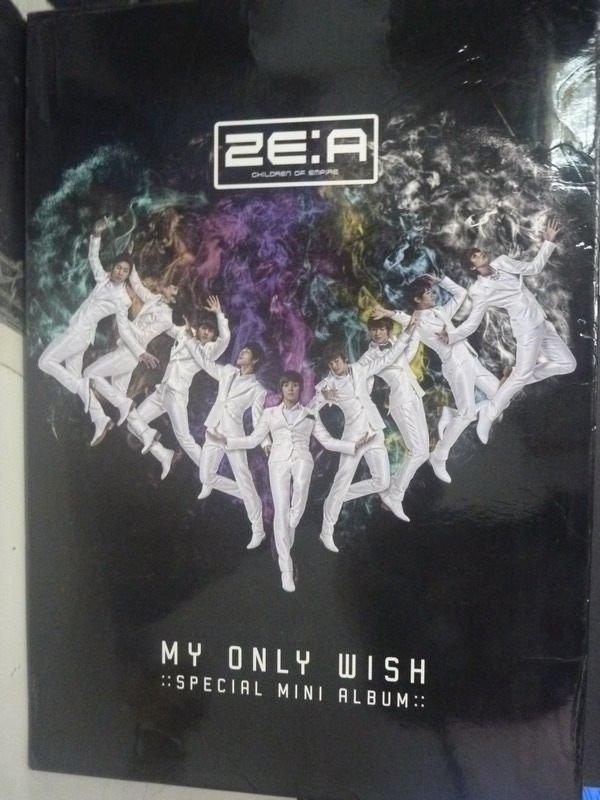 【書寶二手書T7/音樂_ZAT】ZE:A MY ONLY WISH_ZE:A_附光碟