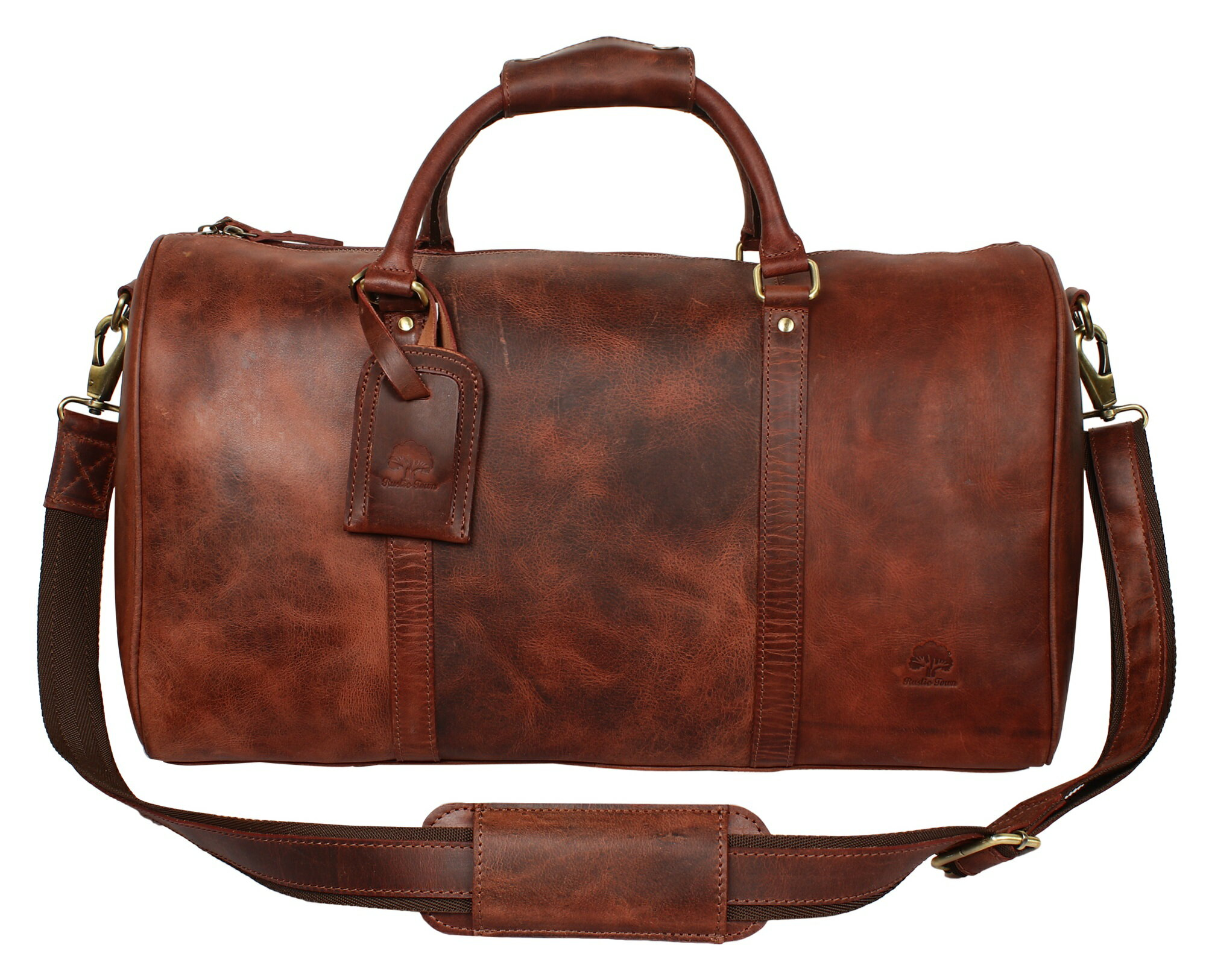 9b44cff57220 Leather Duffel Bags For Men - Airplane Underseat Carry On Luggage By  RusticTown 0