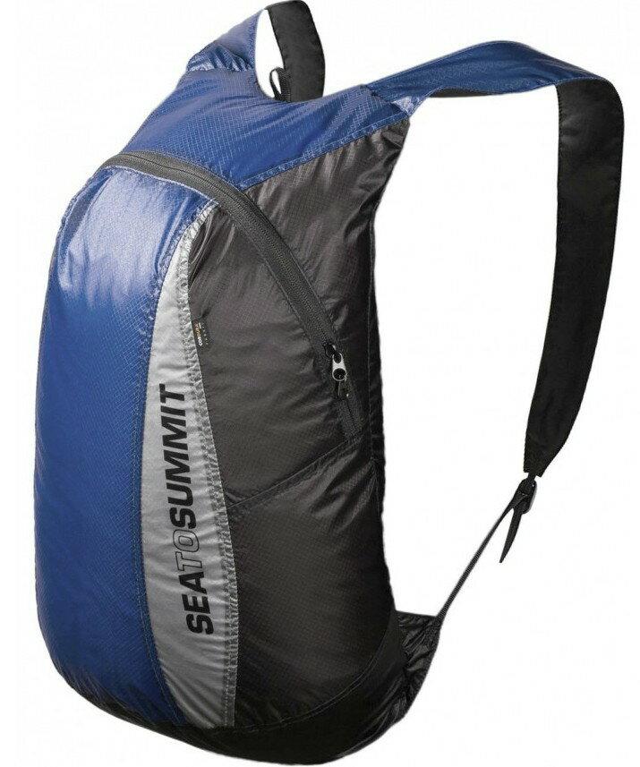 [ Sea to Summit ] Ultra-Sil Day Pack 超輕量矽膠防水背包/攻頂包 20升 AUDPACKBL藍