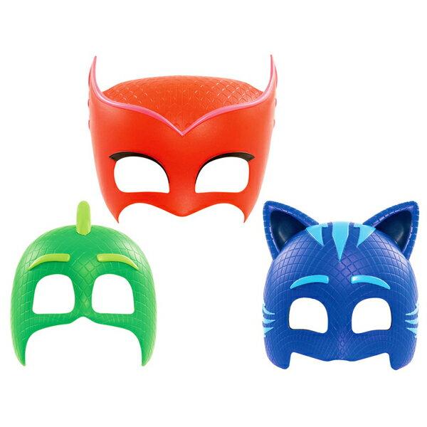 【睡衣小英雄 PJmasks】變裝面具-貓小子/飛壁俠/貓頭鷹女 PJ24590