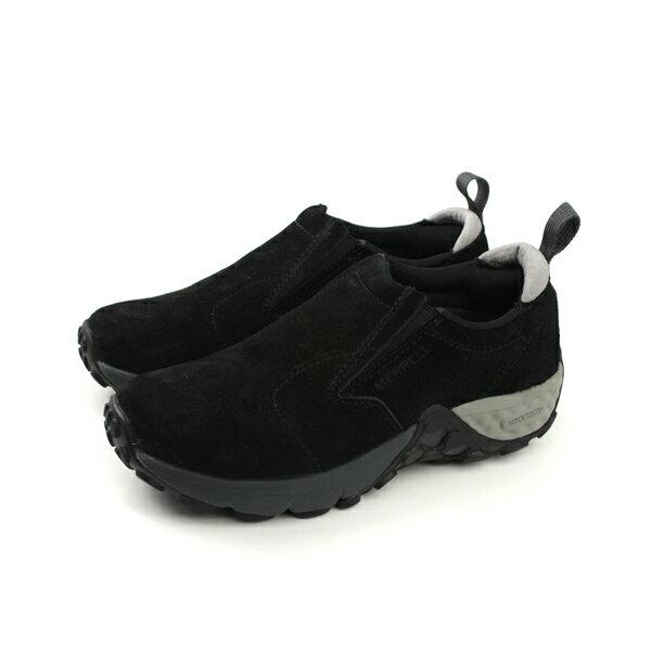 HUMAN PEACE:MERRELLJUNGLEMOCAC+懶人鞋運動鞋舒適黑色女鞋ML45746no849