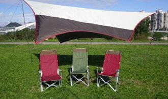 【露營趣】中和 TNR-144 加高加厚鋁合金休閒椅 巨川椅 摺疊椅 野餐椅 露營椅