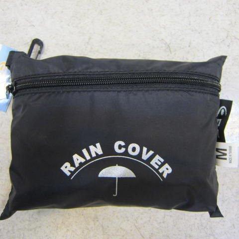 ^~雪黛屋^~EYE 背包防水雨衣罩行李箱雨衣罩輕便帶好收納可伸縮固定環釦MIT EYE9