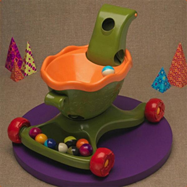 【美國B.Toys感統玩具】寶寶滾球學步樂