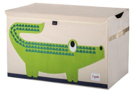 加拿大 3 Sprouts 大型玩具收納 小鱷魚 *夏日微風*