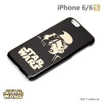 正版 Starwars iPhone 6/6s 星際大戰 金箔硬殼黑暗系列 - 突擊兵