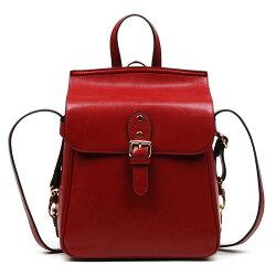 [Nice bags]艾吉貝韓版時尚牛皮後背包/真皮/牛皮/女士肩背包/斜肩包/斜背包/側背包/雙肩包/後背包/手提包/女包