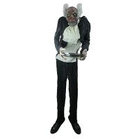 Northlight 5.5-ft Prelit Standing Butler Man Animated w/Sound Deals