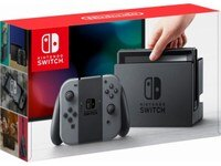 Deals on Nintendo Switch 32GB with Grey Joy-Con