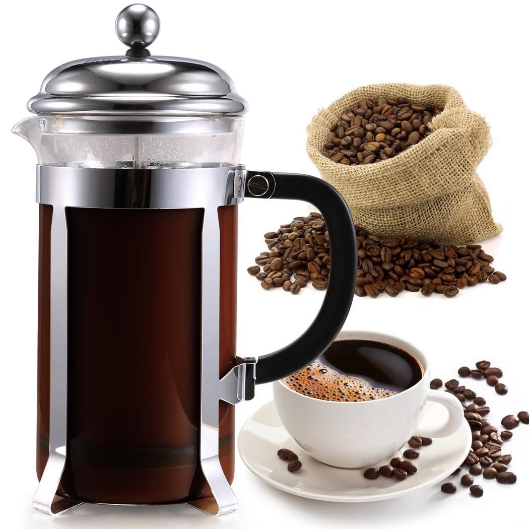 Stainless steel French coffee pot 1000ml 1