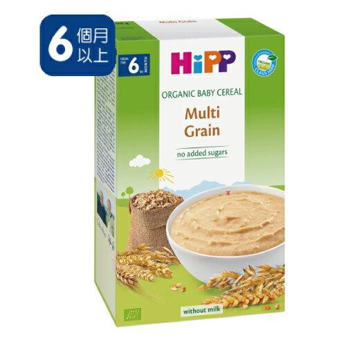 【買6送1】德國  喜寶 有機 寶寶 綜合黃金穀物精  HiPP Organic Baby Cereal Multi Grain 200g - 限時優惠好康折扣