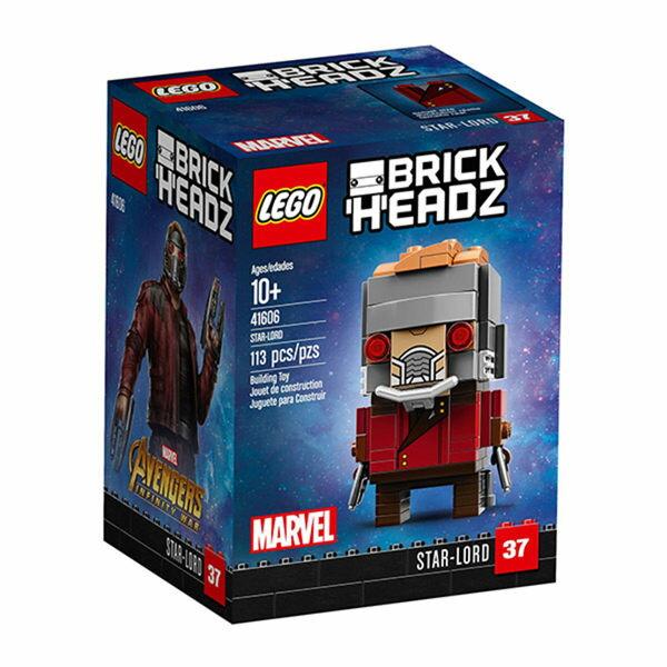 【LEGO樂高積木】Brickheadz積木人偶系列-Star-Lord-LT-41606