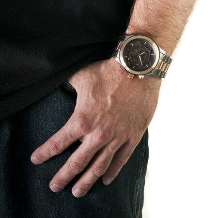 【MICHAEL KORS】正品 (男錶) 黑玫瑰金  三眼 計時 手錶 腕錶 MK8189 2