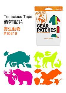├登山樂┤美國McNETTTenaciousTape修補貼片(彩色)野生動物#10819