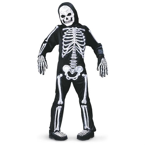 Spooky Skeleton Child Halloween Costume 0