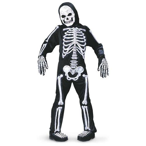 Spooky Skeleton Child Halloween Costume 0
