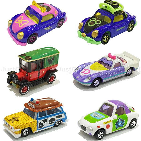 迪士尼 TOMY多美 玩具車 小汽車 萬聖節米奇米妮 巴斯光年 黛西 胡迪 玩具 正版日本進口 * JustGirl *