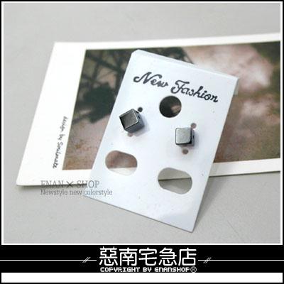 惡南宅急店~0075D~首爾相遇 專櫃鋼針~小墜單品~ 雜誌介紹 一對價