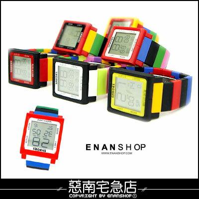 惡南宅急店【0336F】造型手錶?IPHONE觸控設計 電子手錶 情侶對錶可?單支價
