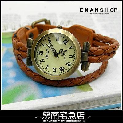 惡南宅急店~0372F~第一次邂逅 韓 男錶女錶情侶對錶可~3線編織~手錶 單價