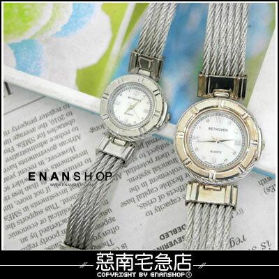 惡南宅急店~0376F~第一次邂逅 韓 男錶女錶情侶對錶可~鋼絲刻畫~手錶 單價