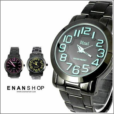 惡南宅急店【0480F】浮雕悠閒錶款 防水金屬腕錶手錶 男錶 女錶 對錶 情侶錶?單支價