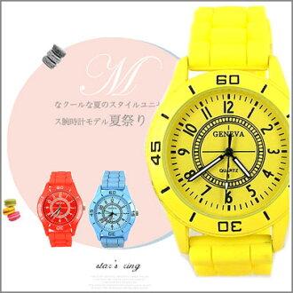 惡南宅急店【0483F】輕盈首選 氣泡配色 亮色手錶 男錶 女錶 對錶 情侶錶?單支價