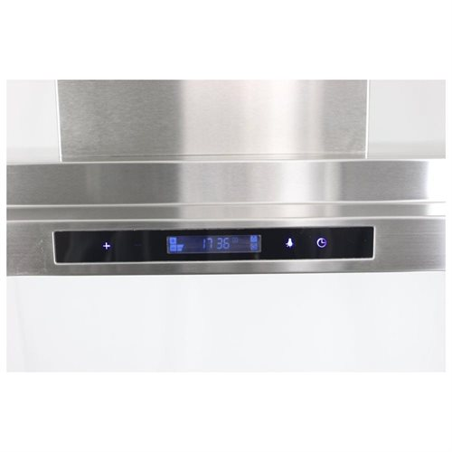 "AKDY New 36"" European Style Island Mount Stainless Steel Range Hood Vent Touch Control AK-GL9011-36 1"