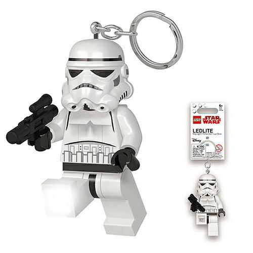 【LEGO樂高積木】LED燈鑰匙圈-帝國風暴兵(新版)