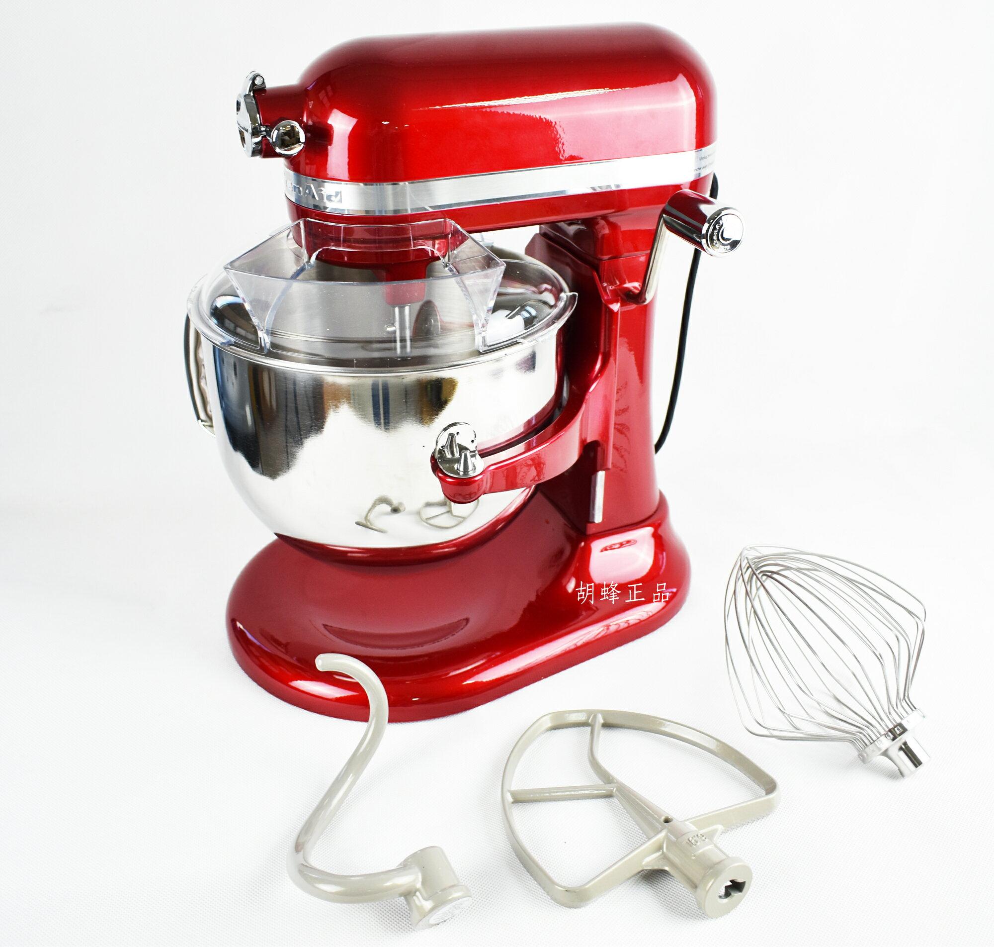 ㊣胡蜂正品㊣ 預購 KitchenAid KSM7586PCA 7-Quart 7QT Pro Line Stand Mixer Candy Apple Red升降式攪拌機(紅色)
