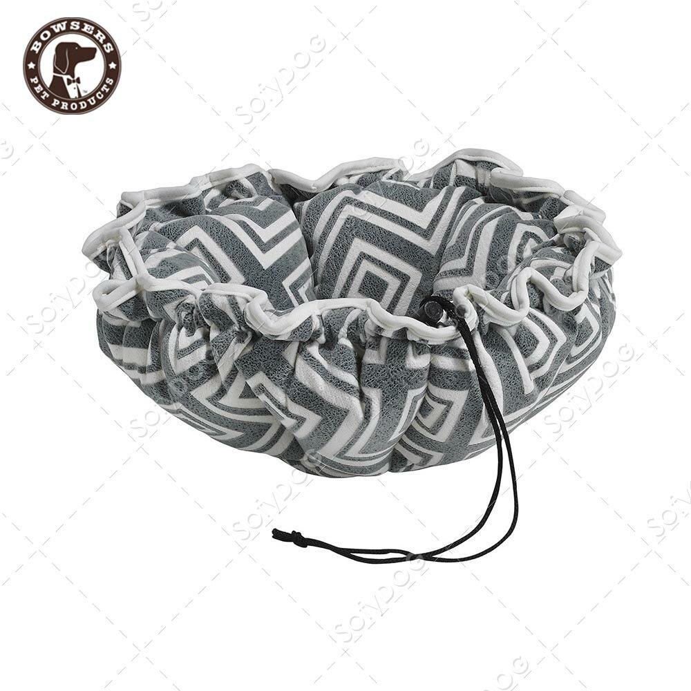 BOWSERS杯型極適寵物床-閃電格紋-S