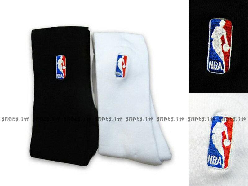 Shoestw【8261212-】創信NBA 運動襪 長襪 小腿肚到膝蓋 黑 白 兩色 一雙250元【3月會員神券 | 單筆滿1000元結帳輸入序號『Spring100』現折100元 | 單筆滿200..