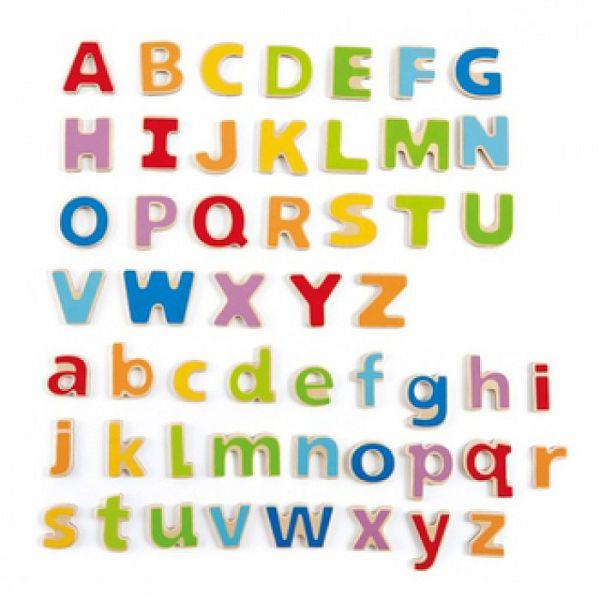 德國 HAPE 愛傑卡 ABC磁鐵字母