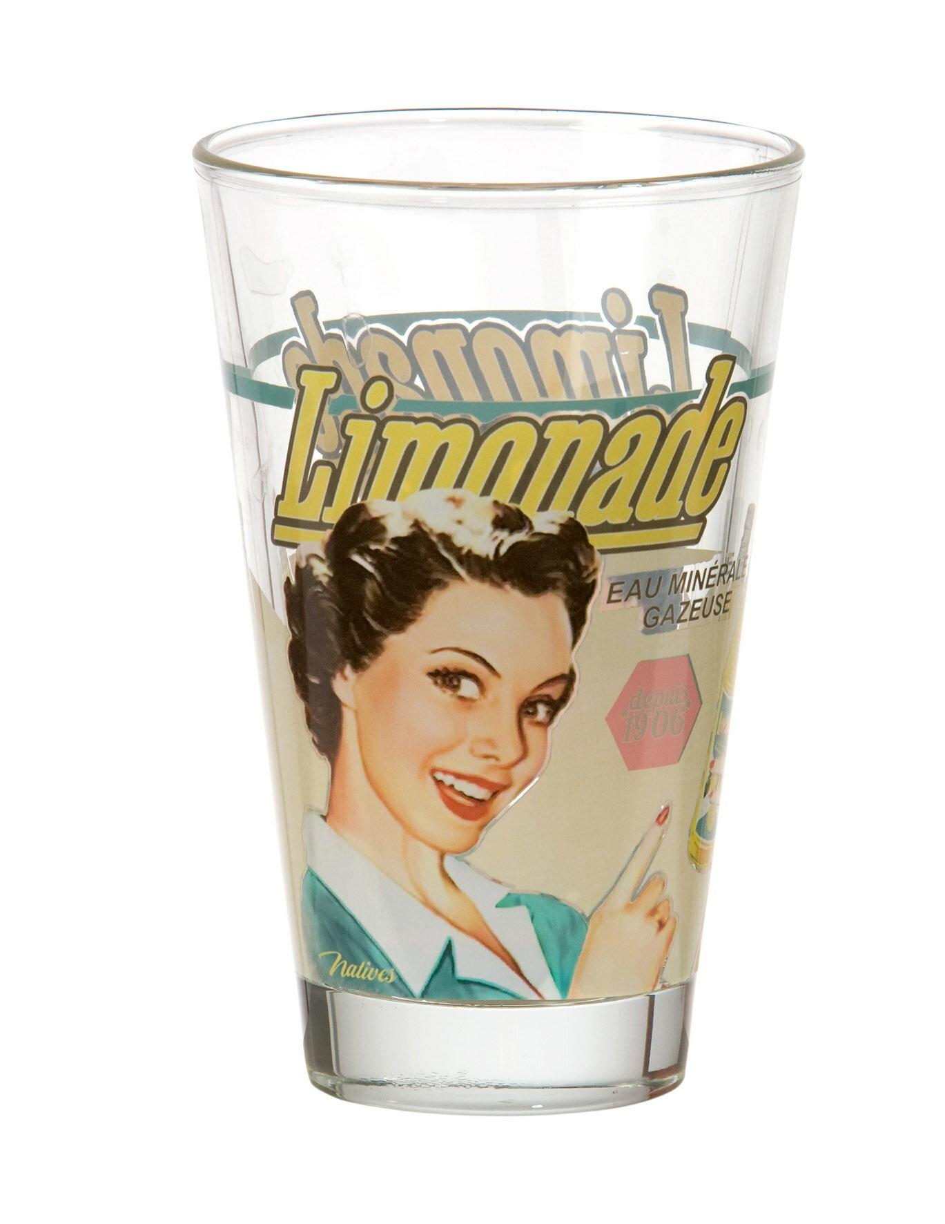 夏日首選檸檬汽水- 玻璃杯Ø 7.5 x 12.5 cm