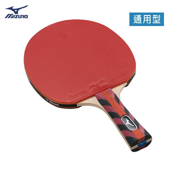 83GTT78062FL(紅黑)通用型桌球拍MM01【美津濃MIZUNO】
