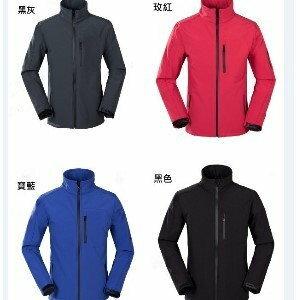 美麗大街【BK022112】保暖防潑水耐磨帥氣軟殼衣長袖外套