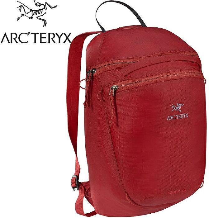 Arcteryx 始祖鳥 Index 15 登山攻頂包/後背包/輕量220g可反收 18283 水果酒紅