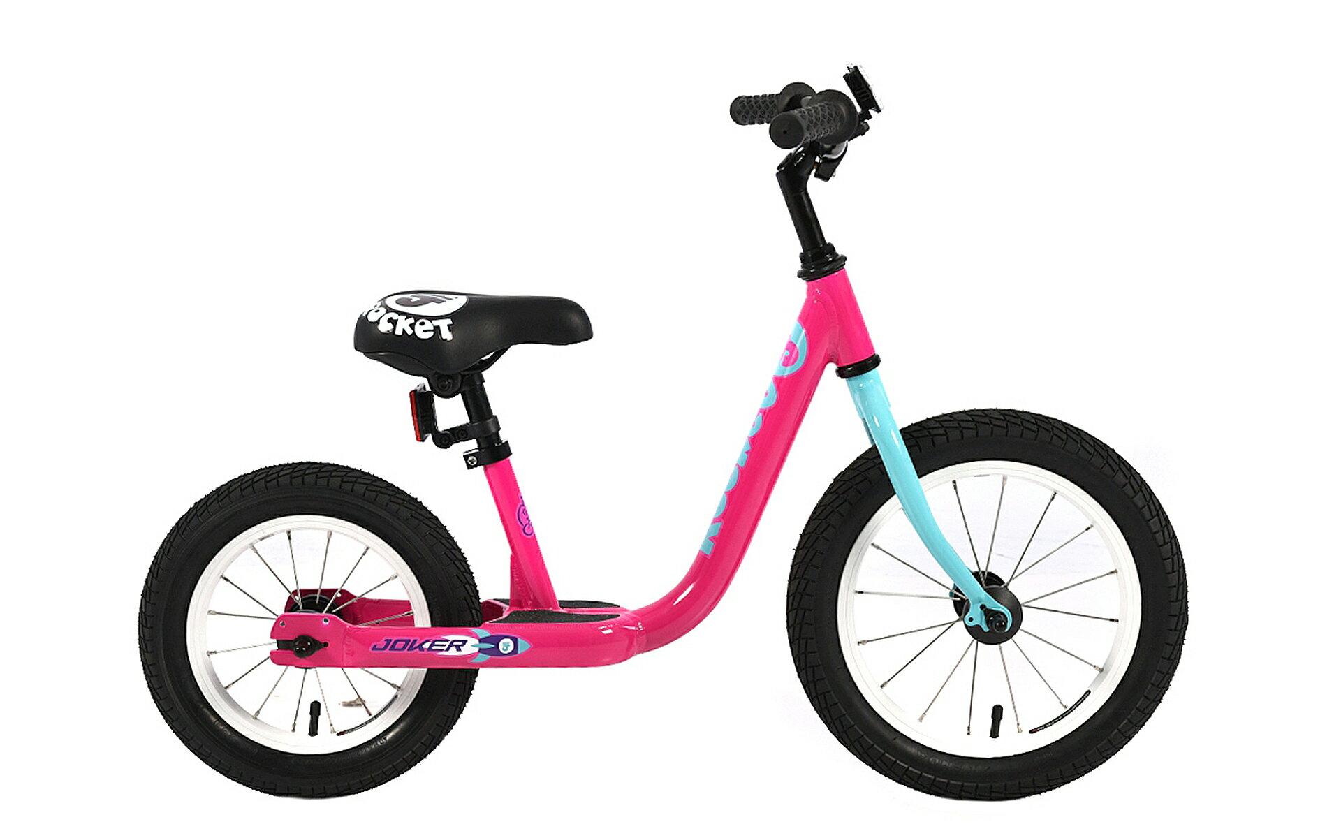 【7號公園自行車】JOKER傑克鋁合金滑步車_桃紅色