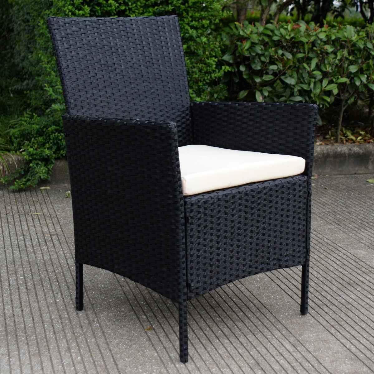 Costway: Costway 4 PC Outdoor Rattan Furniture Set