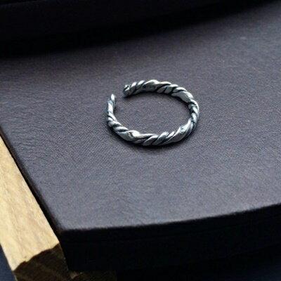 925純銀戒指銀飾-日韓簡約復古設計生日情人節禮物女飾品73ic70【獨家進口】【米蘭精品】