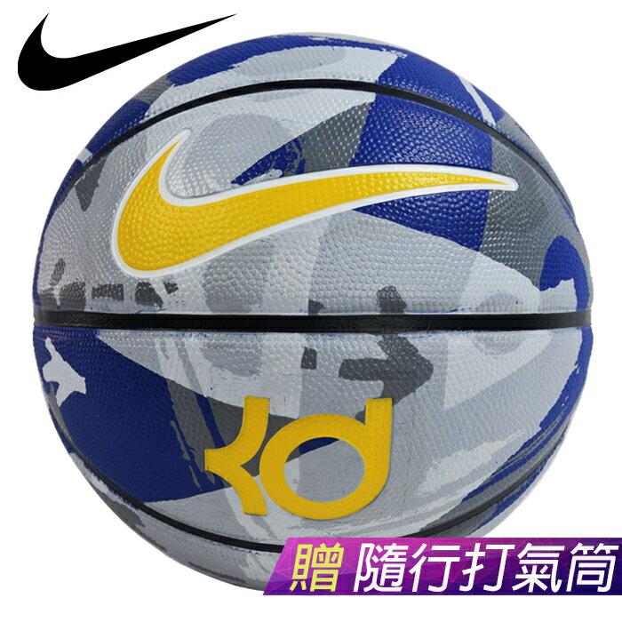 ║NIKE║NIKE KD PLAYGROUND 迷彩藍室外專用-7號籃球