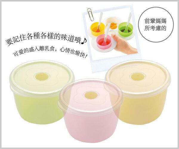 Richell利其爾 - ND 離乳食初期餐具套組 4