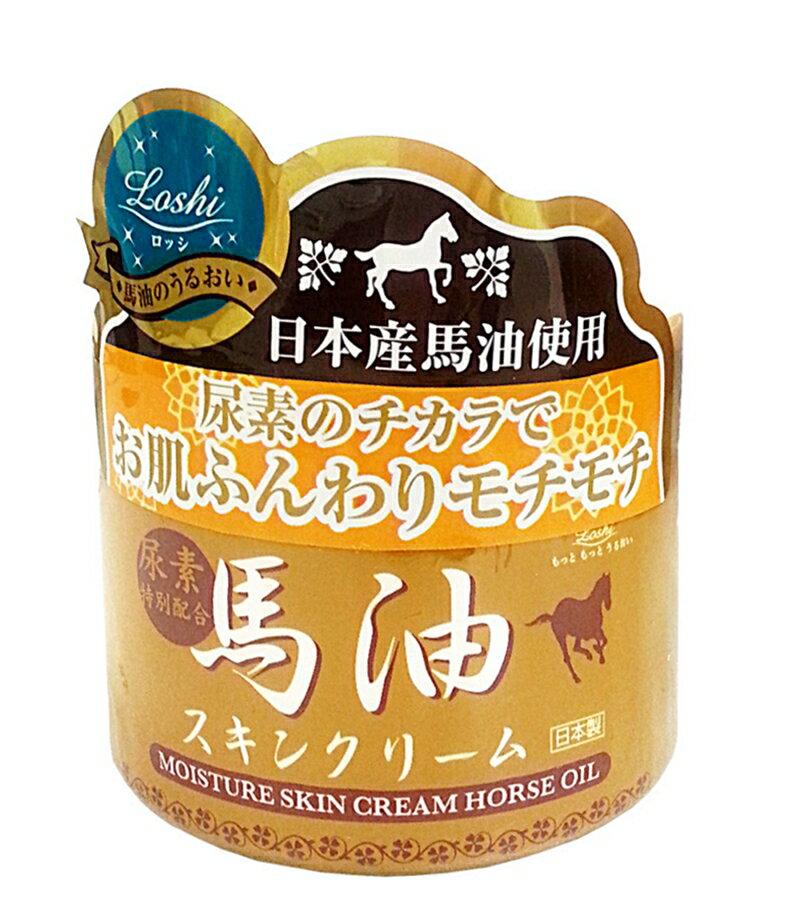 日本 金裝馬油保濕潤膚霜 220G