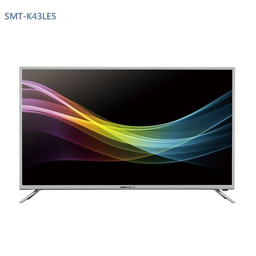 SANLUX 三洋 43吋 LED液晶顯示器  SMT-K43LE5(含視訊盒)
