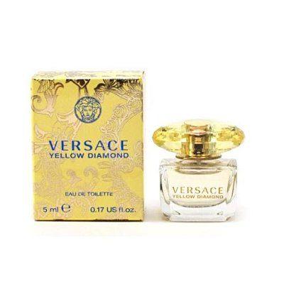 香水1986☆ Versace Yellow Diamond 凡賽斯香愛黃鑽女性迷你小香 5ml