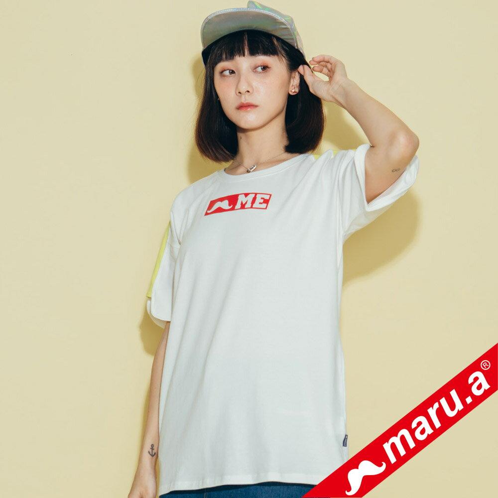 【maru.a】鬍子ME印花T-Shirt(2色)8321319 3